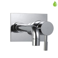 Single Lever High Flow Bath Filler (Concealed Body) Wall Mounted Model (SOL-CHR-6135)