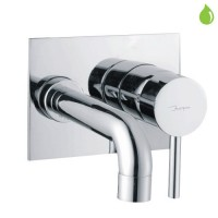 LegsSingle Lever High Flow Bath Filler (Concealed Body) Wall Mounted Model (FLR-CHR-5135)