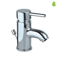 Single Lever Basin Mixer (Small Spout) (FLR-CHR-5003B)