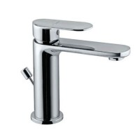 Single Lever Basin Mixer with Popup Waste (OPP-CHR-15051BPM)