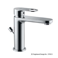 Single Lever Basin Mixer with Popup (ORP-CHR-10051BPM)