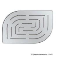 Верхний душ Alive Maze, 1 режим, диаметр 200х300 mm, нержавеющая сталь, хром (OHS-CHR-85859M)