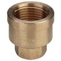 Муфты и переходы бронзовые Резьбовые фитинги и удлинители для кранов из красной бронзы с резьбой по DIN 2999-1 Виега Viega
