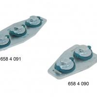 BIS RapidRail® T- и X-соединители